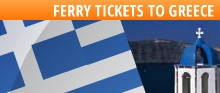 FERRY TICKETS TO GREECE